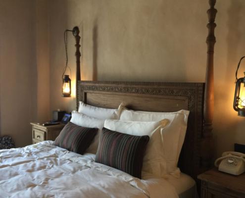 antikt soveværelse